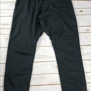 L1] NIKE Tapered Sweatpants Black 826431 010 - L